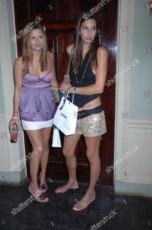 The Tatler Magazine Summer Party at Home House Portman Square London Jessica & Zara Simon