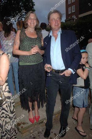 The Tatler Magazine Summer Party at Home House Portman Square London Lady Anne Carr with Her Brother the Marquess of Worchester