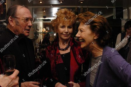 1st Night of the Birthday Party at the Duchess Theatre London Harold Pinter Edna O'brien & Eileen Atkins