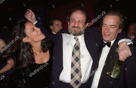 the British Book Awards Isabel Fonseca Salman Rushdie and Martin Amis