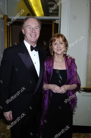 The Evening Standard British Film Awards at the Savoy Hotel London Tim Piggott-smith & Wife