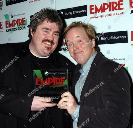 The 2005 Empire Film Awards at the Guildhall London Phil Jupitus Brad Bird