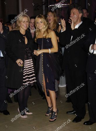 the London Party in Aid of Facing the World at the Wallace Collection Manchester Square Sienna Miller with Her Pr (l) and Agent Dallas Smith (r)