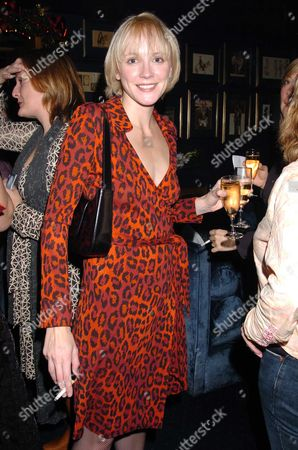 Party at Tramp in Aid of the Peter Cook Foundation Following A Screening at the Curzon Mayfair of the Channel 4 Drama not Only But Also About Peter Cook & Dudley Moore Camilla Power