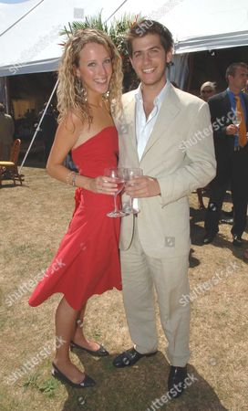 The Veuve Clicquot Gold Cup Finals Day at Cowdray Park Midhurst West Sussex Jack Freud & Kate Melhuish
