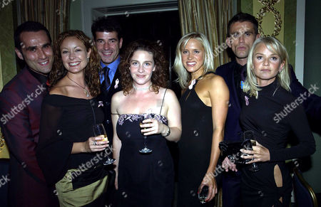 Tv Quick Soap Awards at the Dorchester Hotel Park Lane the Bill Cast - Rene Zagger Scott Maslen Scott Neal Natalie Roles Suzanne Maddock and Beth Cordingly