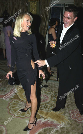 Tv Quick Soap Awards at the Dorchester Hotel Park Lane Lisa Maxwell and Scott Neal