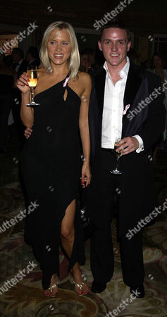 Tv Quick Soap Awards at the Dorchester Hotel Park Lane Beth Cordingly and Scott Neal