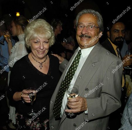 1st Night Party For Twelfth Night at the High Commission of India Saeed Jaffrey & His Wife