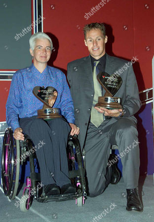 Variety Club 30th Sporting Awards at the Royal Lancaster Hotel Paralympic Champion Isabel Newstead and Danny Crates