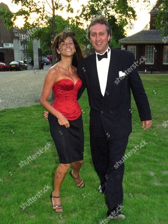 Ve Day Ball Chelsea Nick Allott with His Partner Christa D'souza