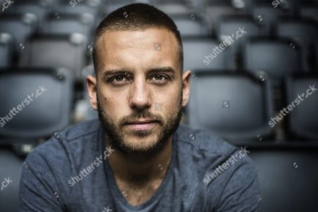 Stock Picture of Anton Hysen at the Friends Arena