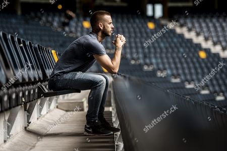 Anton Hysen at the Friends Arena