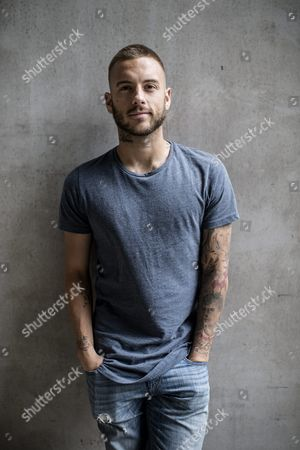 Stock Image of Anton Hysen at the Friends Arena