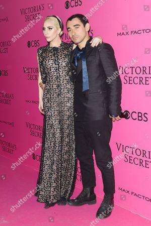 Lady Gaga and Nicola Formichetti