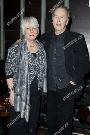 'Absent Friends' Press Night After Party at Mint Leaf Haymarket Alison Steadman with Her Partner Michael Elwyn