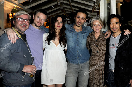 'Chicken' Press Night After Party at Brasserie Blanc Covent Garden Craig Kelly Amy Tez George Georgiou Lisa Maxwell