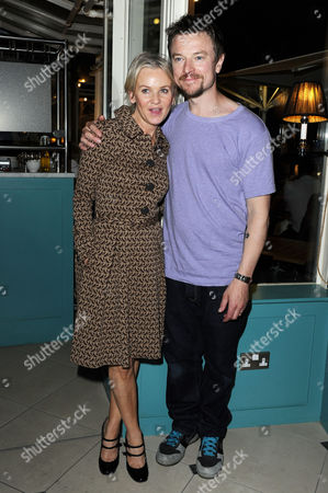 'Chicken' Press Night After Party at Brasserie Blanc Covent Garden Lisa Maxwell and Craig Kelly