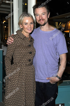 'Chicken' Press Night After Party at Brasserie Blanc Covent Garden George Georgiou Lisa Maxwell and Craig Kelly