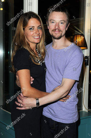 'Chicken' Press Night After Party at Brasserie Blanc Covent Garden Craig Kelly with His Wife Camilla