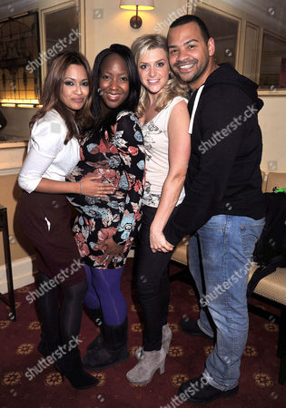 Stock Picture of 'Dick Whittington' Press Night at Wimbledon Theatre the Broadway Tasmin Lucia Khan Angelica Bell Anna Williamson and Michael Underwood