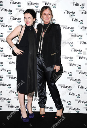 'Film Instyle' Celebrating Instyle Magazine's 10th Anniversary in Association with Land Rover Held at Sanctum Soho Hotel London Eilidh Macaskill and Eva Cavalli