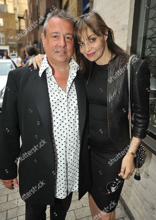 Private View at White Cube Gallery St James Hamish Mcalpine with His Wife Carol Siller
