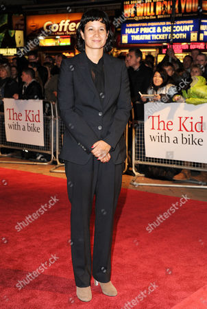 'Junkhearts' Red Carpet During the 55th Bfi London Film Festival at the Vue Leicester Square Director Tinge Krishnan
