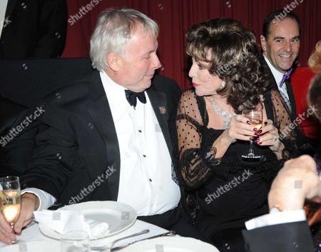 Christopher Biggins and Joan Collins