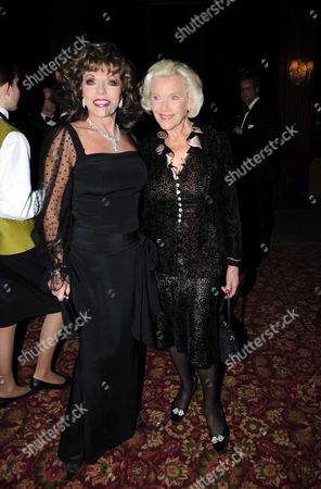 Joan Collins and Honor Blackman