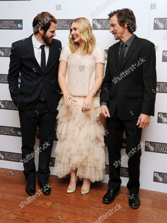 'Martha Marcy May Marlene' Red Carpet During the 55th Bfi London Film Festival at the Vue Leicester Square Director Sean Durkin Elizabeth Olsen and John Hawkes