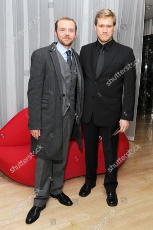 'Mission Impossible Ghost Protocol' Uk Premiere After Party at the Sanderson Hotel Simon Pegg and Samuli Edelmann