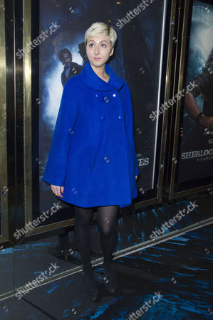 'Sherlock Holmes A Game of Shadows' Uk Premiere at the Empire Leicester Square Rosamund Hanson