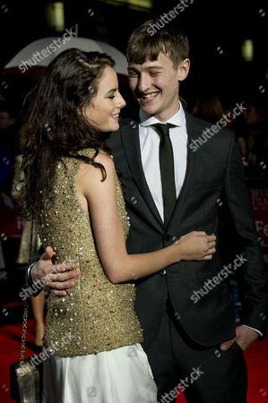 'Spike Island' Screening During the 56th London Film Festival at Odeon Westend Kaya Scodelario with Her Boyfriend Elliott Tittensor
