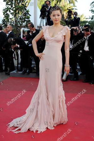 'The Artist' Red Carpet at Palais Des Festivals During the 64th Cannes Film Festival Gianna Jun