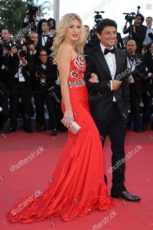'The Artist' Red Carpet at Palais Des Festivals During the 64th Cannes Film Festival Hofit Golan and Said Taghmaoui
