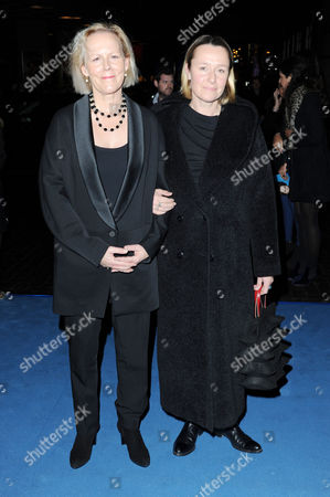'The Iron Lady' European Premiere at the Bfi Southbank Phyllida Lloyd with Her Partner Sarah Cooke