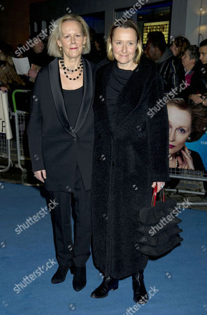 Stock Picture of 'The Iron Lady' European Premiere Outside Arrivals at the Bfi Southbank Centre Phyllida Lloyd with Her Partner Sarah Cooke