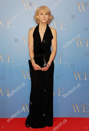 Stock Image of 'W E' Premiere at the Odeon Kensington High Street Anne Sebba