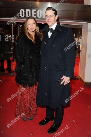 'War Horse' Uk Royal Premiere at the Odeon Leicester Square Ben Elliot and Mary-clare Winwood