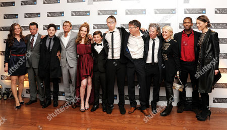 'Wild Bill' Red Carpet During the 55th Bfi London Film Festival at the Vue Leicester Square Cast & Production Team - Liz White ? Iwan Rheon Lee Gregory Charlotte Spencer Sammy Williams Will Poulter Charlie Creed-miles Dexter Fletcher (director) Jaime Winstone Mark Monero and Olivia Williams