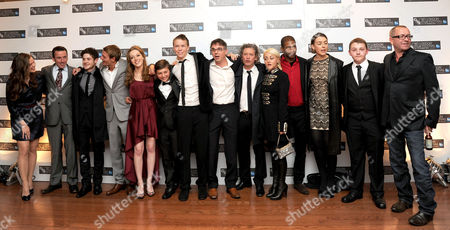 'Wild Bill' Red Carpet During the 55th Bfi London Film Festival at the Vue Leicester Square Cast & Production Team - Liz White ? Iwan Rheon Lee Gregory Charlotte Spencer Sammy Williams Will Poulter Charlie Creed-miles Dexter Fletcher (director) Jaime Winstone Mark Monero Olivia Williams Aaron Ishmael and Sean Pertwee