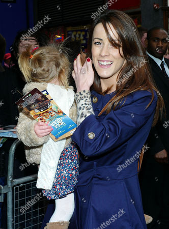 'Yogi Bear in 3d' Uk Gala Screening in Association with the Variety Club Children's Charity at the Vue Cinema Leicester Square Nicola Tappenden with Daughter Poppy Walton