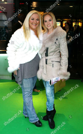 'Yogi Bear in 3d' Uk Gala Screening in Association with the Variety Club Children's Charity at the Vue Cinema Leicester Square Vanessa Feltz with Her Daughter Allegra Kurer
