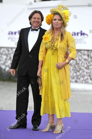 10th Annual Ark (absolute Return For Kids) Gala Dinner On Behalf of the Foundation at Perks Field Kensington Palace Katrine Boorman with Her Husband Danny Moynihan