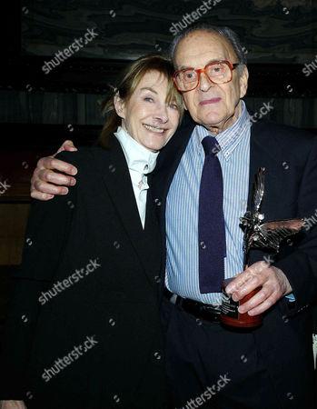 2011 Evening Standard British Film Awards at the London Film Museum County Hall Southbank Jean Marsh and John Krish