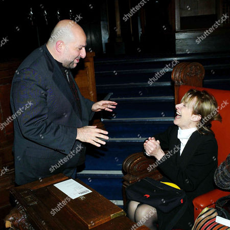2011 Evening Standard British Film Awards at the London Film Museum County Hall Southbank Omid Djalili with Jean Marsh