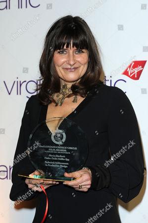 32nd Critics Circle Awards at the Bfi Southbank - Press Room Maria Djurkovic (production Design 'Tinker Tailor Soldier Spy')