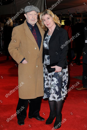 32nd Critics Circle Awards at the Bfi Southbank - Press Room Nicolas Roeg with His Wife Harriett Harper