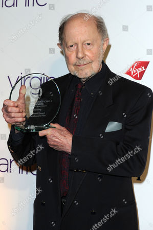 Stock Picture of 32nd Critics Circle Awards at the Bfi Southbank - Press Room Nicolas Roeg with the 'Dilys Powell Award' For Excellence in Film
